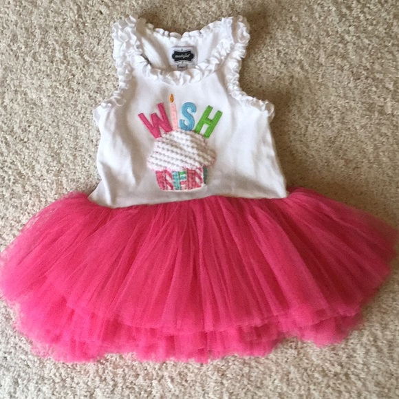 5519bae41 Mudpie Birthday dress size 24 mon/2T